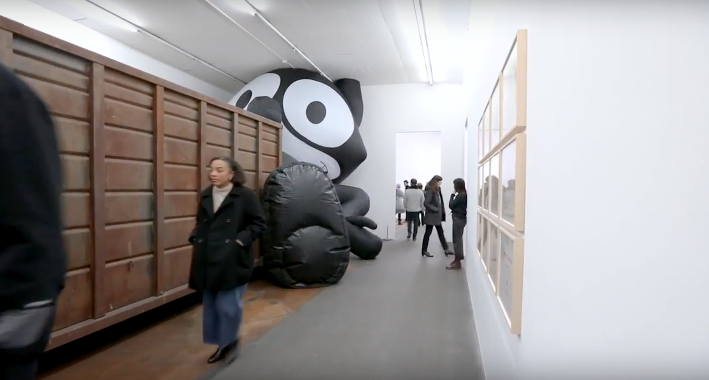 """MAMCO's exhibition """"Die Welt als Labyrinth"""""""