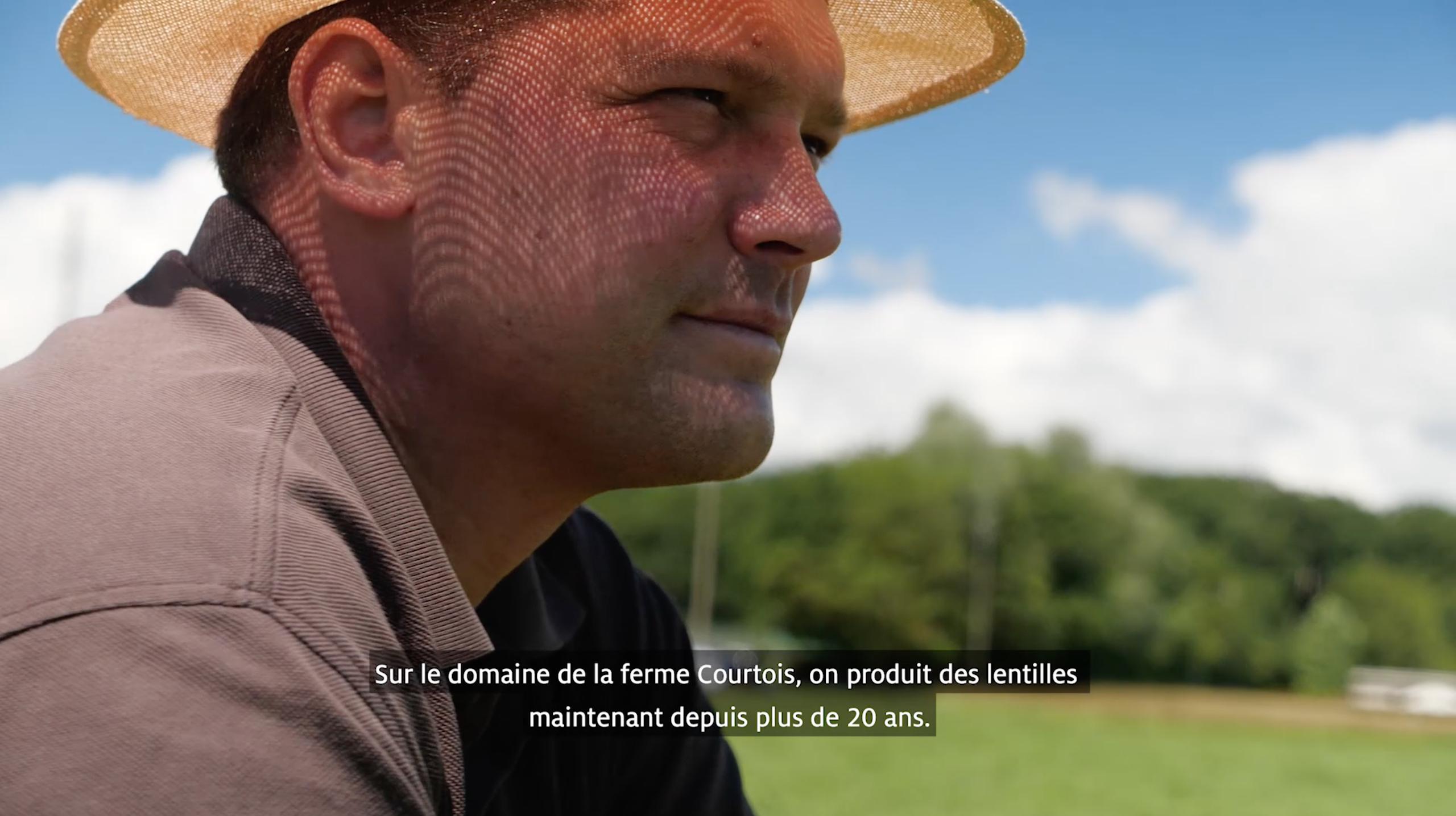 """ Courtois Farm ""                   – Main lentils producer in Switzerland –"